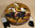 Painted Tarahumara Hand Drum -Chief