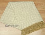 Fringed Alpaca Blanket 60x80