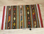 Zapotec Hand Woven Wool Area Rug -4x6