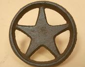 Western Texas Rustic Metal Art Decorative Nails - Lone Star