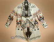 Multi-color Southwestern Design Cape - Extra Large
