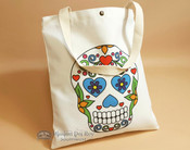Southwestern Day of the Dead Bag -Sugar Skull