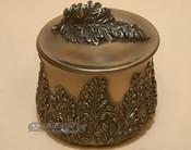 Bronze Southwest Metal Art - Chrysanthemum Box
