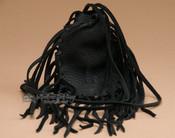 Cherokee Deer Skin Medicine Pouch - Black