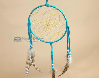 "Native American Dream Catcher 6"" -Turquoise"