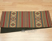 Southwestern tapestry woven table runner -Borrego