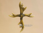 Rustic Antler Cross