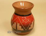 Sioux Red Glaze Vase
