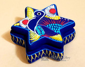 Star Pottery Jewelry Box