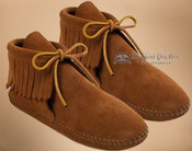 Women's Classic Fringed Boot Moccasin