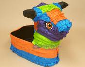 Mexican Pinata Basket -Bull