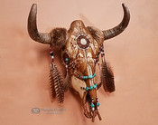 Native American Buffalo Skull