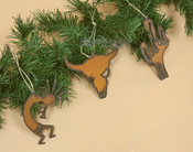 Southwestern Metal Ornament Set