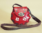 Small Hand Stitched Leather Purse