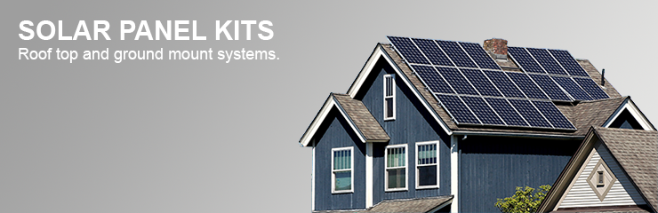 Solar Panel Kits - Home and Business