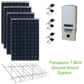7.8kW Solar Panel Kit w/Panasonic & SolarEdge