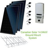 14.04kW Solar Panel Kit GM w/Canadian Solar & SolarEdge