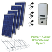 17.28kW Solar Panel Kit GM w/Peimar & SolarEdge