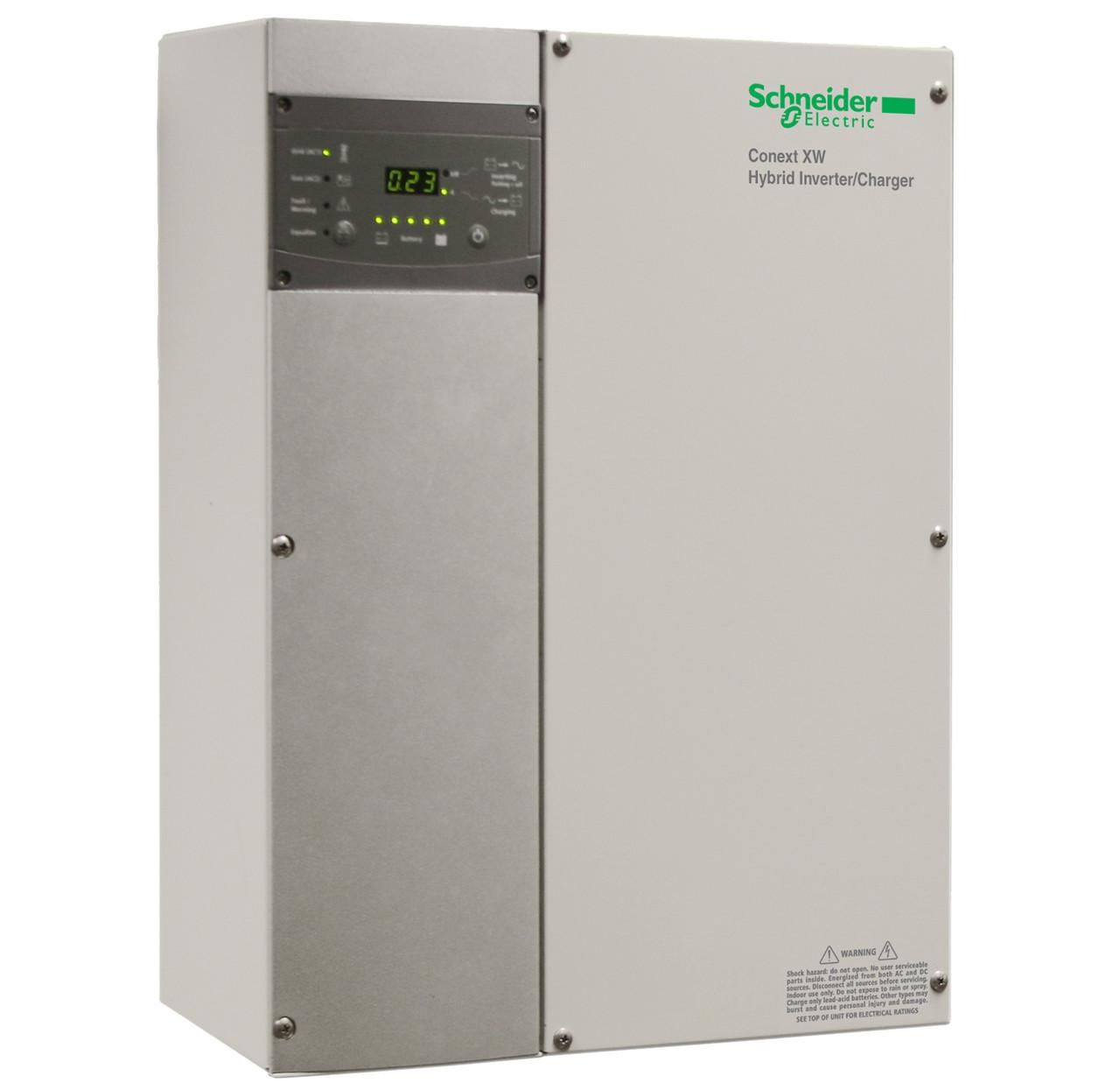 Schneider electric conext xw4548 120240 60 4500w battery inverter loading zoom swarovskicordoba Gallery
