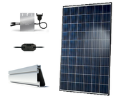 Hanwha QCells 2.68kW Roof Mount Solar Kit