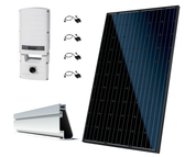 Canadian Solar 14.04kW String Inverter Roof Mount Solar Kit