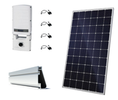 Canadian Solar 12.39kW String Inverter Roof Mount Solar Kit