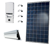 Hanwha QCells 17.42kW String Inverter Roof Mount Solar Kit