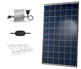 Hanwha QCells 10.05kW Microinverter Ground Mount Solar Kit