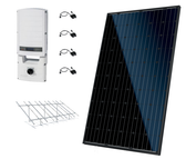 Canadian Solar 10.80kW String Inverter Ground Mount Solar Kit