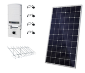 Canadian Solar 8.85kW String Inverter Ground Mount Solar Kit