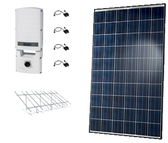Hanwha QCells 13.40kW String Inverter Ground Mount Solar Kit