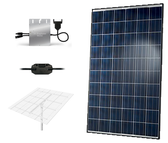 Hanwha QCells 1.34kW Microinverter Top of Pole Mount Solar Kit