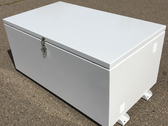 SR-BB12-8D-2X6-IN Closed Ground Mount Enclosure