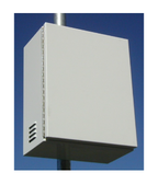 SR-BB2-6V220-PL Top of Pole Battery Enclosure
