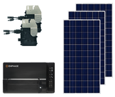 Canadian Solar and Enphase Energy Top of Pole Mount Solar Kit
