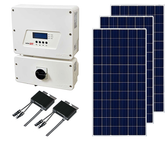 Canadian Solar and SolarEdge Top of Pole Mount Solar Kit