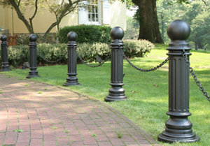 decorative bollard post sleeves