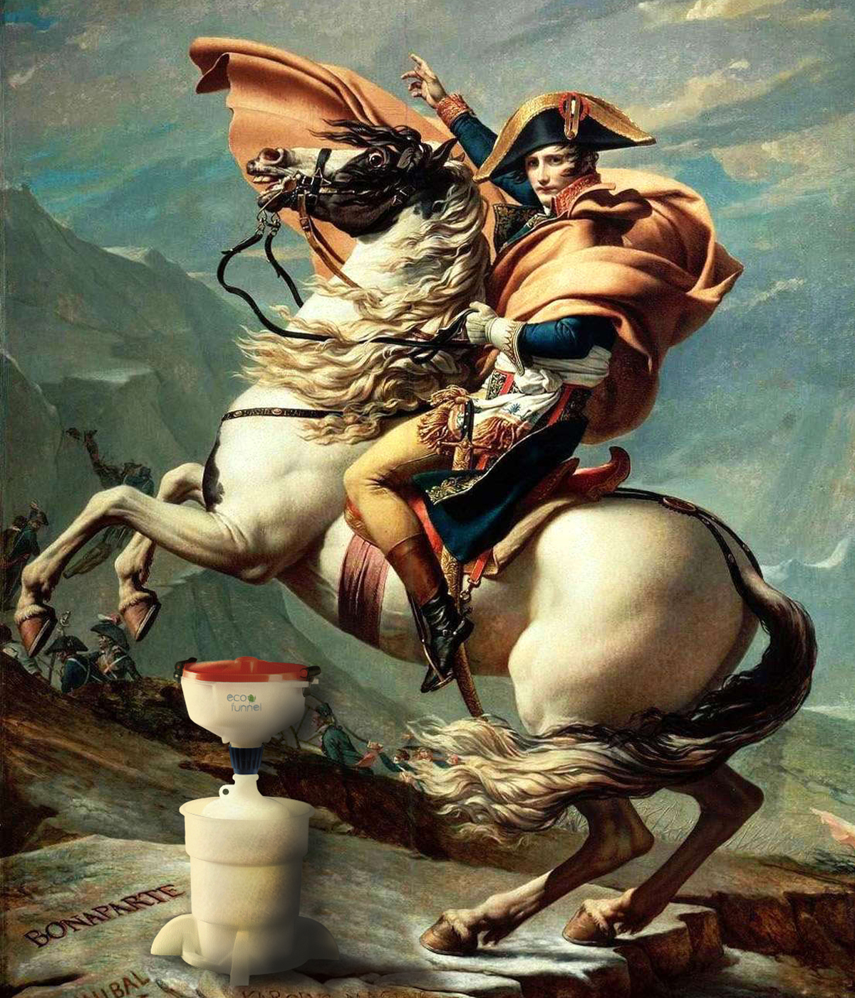 Napolean Crossing the Alps, Jacques-Louis David