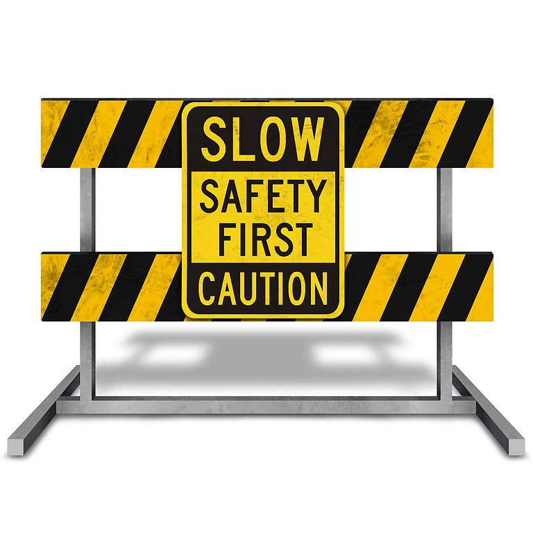 Caution Safety First Workplace