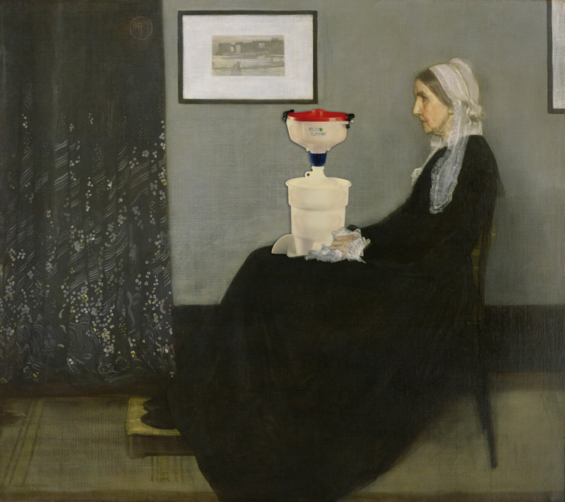 Whistler's Mother and her ECO Funnel, Whistler