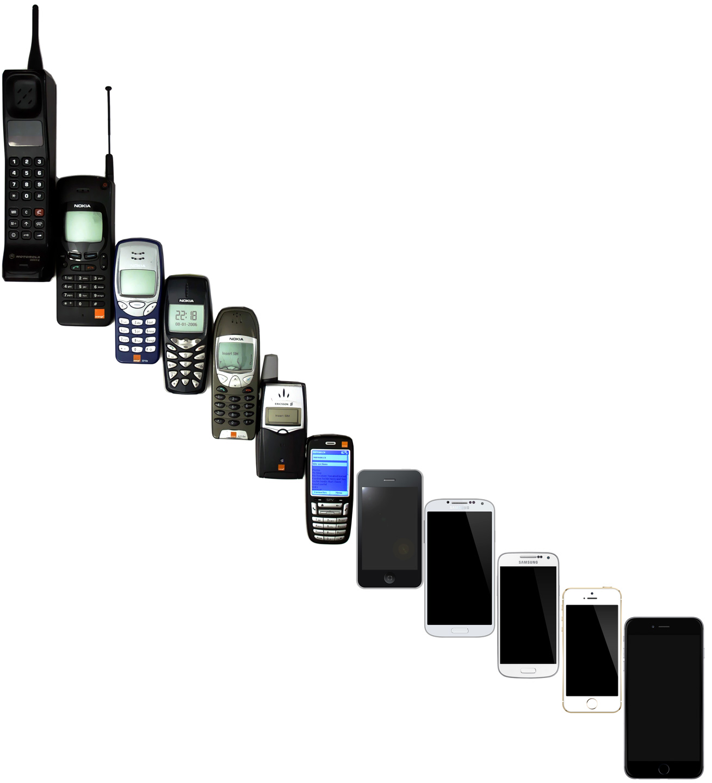 Mobil Phone Generations