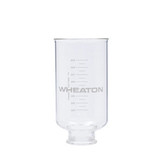 Wheaton 419420 1000mL Glass Funnel, 47mm Vacuum Filtration Assemblies