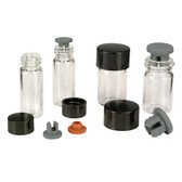 Wheaton 651907 10mL Vacule Vacuum Ampule, 22-350 Cap, case/200