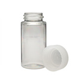 Wheaton 986740 20mL LS Scintillation Vials, PET, Polyethylene Foam Lined Caps, Case/1000
