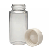 Wheaton 986750 20mL LS Scintillation Vials, PET, Polyethylene Foam Lined Caps, Case/500