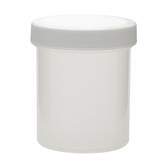 125mL PP Jar, Polyethylene Foam Lined Cap, case/36