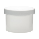 250mL PP Jar, Polyethylene Foam Lined Cap, case/36