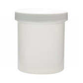 500mL PP Jar, Polyethylene Foam Lined Cap, case/24