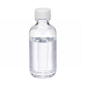 2oz Clear Glass Boston Round Bottle, Poly Vinyl Liner Bulk, case/288