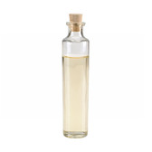 Wheaton W216994 4oz Clear Glass Oil Sample Bottle, Cork Stopper, Case/144